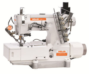 Direct Drive High Speed Interlock Sewing Machine with Auto Trimmer Hj500-01CD