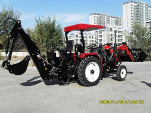 2016 Hot Sale China Made High Quality 30-75HP 4X4 4WD Farm Tractor Front End Loader 4 in 1 Bucket Lower Price pictures & photos