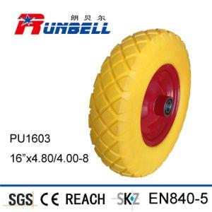 Small Polyurethane Rubber Flat Freel Foam Wheels