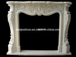 Carved Marble Fireplace Mantel (L1-27) pictures & photos