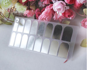 Silver Color Nail Foil Sticker Nail Patch Nail Foil Strip Nail Beauty pictures & photos