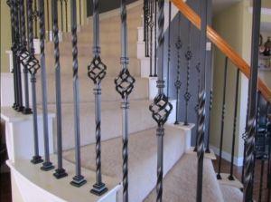 Wrought Iron/Casting Gates/Decorative Iron Corridor Palisade Fences Making Machine pictures & photos