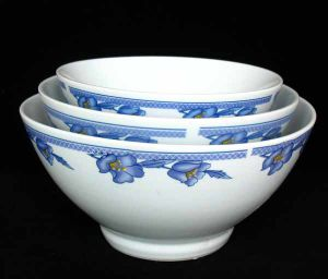 Porcelain Footed Bowl (BOL80111B)
