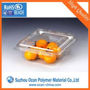 Vacuum Forming 500 Micron Pet Rigid Film Roll Transparent for Food Packaging pictures & photos