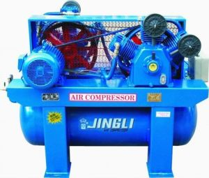 Double Stage Piston Air Compressor