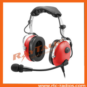 Aviation Headset No Bluetooth Anr Headphones with Electret Mic pictures & photos