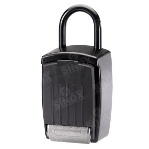ABS Cover Hardware Lock Combination Key Storage Security with Vinyl Coated Shackle pictures & photos