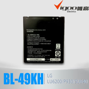 LG Bl-49kh Lu6200 Su640 P930 Vs920 P936 6220 Mobile Phone Battery pictures & photos