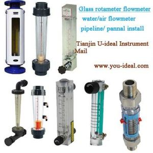 Sight Glass Rotameter Air-Water Flowmeter-Oxygen Glass Tube Rotameter Panel Meter-Pipeline Flowmeter-Plastic Water Flow Meter pictures & photos