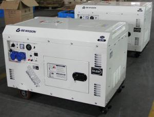 Diesel Power Silent Generator 6.5kw pictures & photos