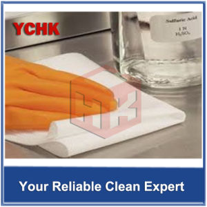 4X4 Inch Vacuum Package Cleaning Micro Denier Fiber Wipes pictures & photos