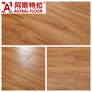 12mm Silk Surface (U Groove) Laminate Flooring (AD1136) pictures & photos