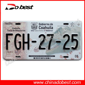 Custom Embossing Aluminum License Plate pictures & photos