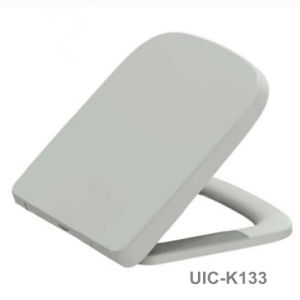Rectangular Duroplast Toilet Seat with Quick Release Soft Close pictures & photos