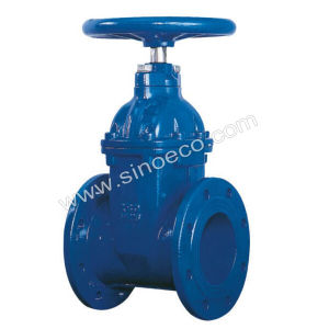 Stainless Steel Flanged Soft Seal Gate Valve pictures & photos