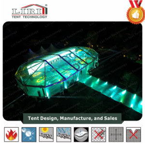 Outdoor Transparent PVC Cover Aluminum Frame Mixed Tent with Multi-Side Ends for Events pictures & photos