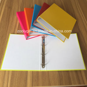 Assorted Color A4 4 Ring Binder Paper File Folders pictures & photos