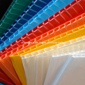 Coroplast Plastic Flute Board pictures & photos