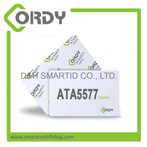 125kHz Read and Rewritable Blank ATA5577 Smart Card T5577 keycard pictures & photos