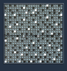 Glossy Brick Design Glass Stone Mosaic pictures & photos