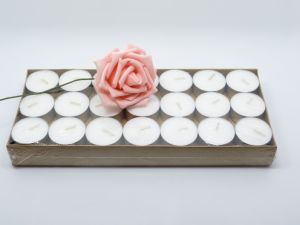 8 Hour White Tealight Candle with Aluminium Holder pictures & photos