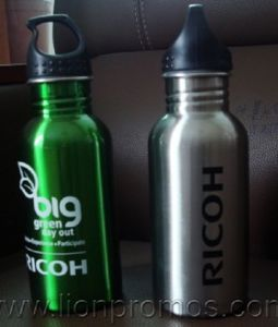 Ricoh Logo Eco Gifts Wide Mouth Metal Sports Bottle pictures & photos