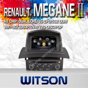 Witson Car DVD with GPS Navigation for Renault Megane II (2002-2008) pictures & photos