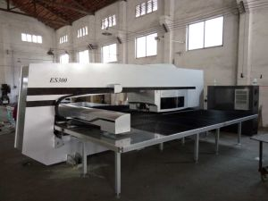 Es300/ED200 Electro Single/Double Servo Turret Punch Press for Sale pictures & photos