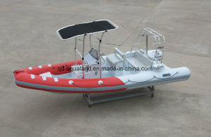 Aqualand 21.5feet 6.5m Rigid Inflatable Motor Boat/Fishing /Rib Diving Boat (RIB650B) pictures & photos