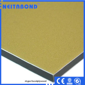 Popular Wooden Color Aluminum Composite Panel with Size 1220*2440*3mm pictures & photos