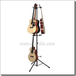 Double Layers Vertical Guitar Stand for Six Guitars (STG106) pictures & photos
