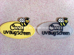 Silicone Patch Low Price Small Logo Labels/ Rubber Logo/Plastic Embossed Logo pictures & photos