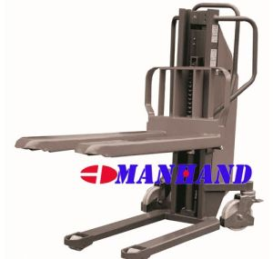 Single Mast Electric Manual Stacker