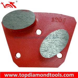 Diamond Trapezoid Grinding Plates for Concrete Floor Polishing pictures & photos