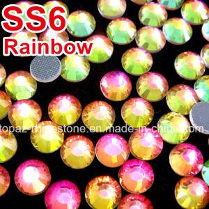 Ss6-Ss30 1440PCS DMC Iron on Hotfix Crystal Rhinestones (HF-ss6-ss30 rainbow) pictures & photos