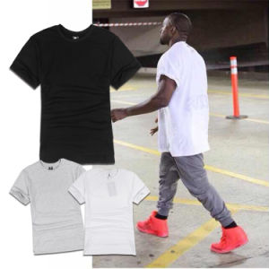 Plain Short Sleeve T-Shirt Simple Style Pullover Tops & Tee pictures & photos