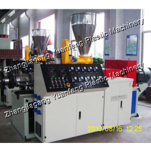 SJSZ65/132 Conical Double Screw Plastic Extruder
