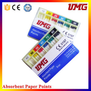 Dental Millimeter Marked Absorbent Paper Points From Umg pictures & photos
