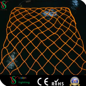 Outdoor and Indoor Christmas Decorative LED Net Light in Yellow pictures & photos