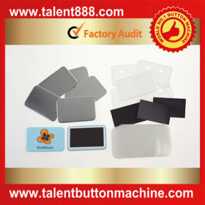 Talent Button Rectangle 40X60mm Pin Button pictures & photos
