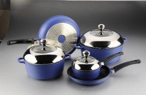 8PCS Aluminum Die-Casting Cookware Set