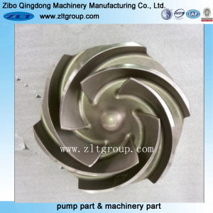 Investment Casting Goulds 3196 Pump Impeller 4X6-10h in Stainless Steel pictures & photos
