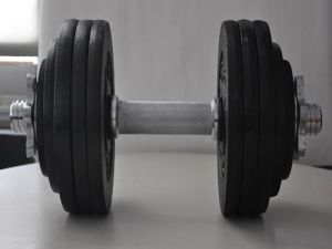 Hot Sales Adjustable Cast Iron Rubber Dumbbell Set pictures & photos