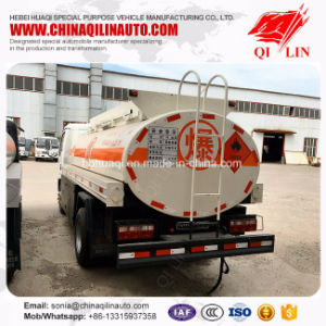 Favorable Price Stock LHD 5000 Liters Oil Tank Truck pictures & photos