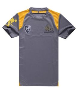 Sport Promotional Dry Fit 2 Color Combination Printing T Shirt Manufacturers in China pictures & photos