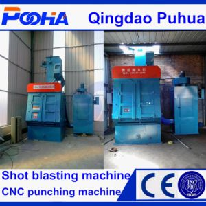 Rubber Belt Tracked Shot Blasting Machine pictures & photos
