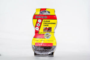 2 Pack Clear Packaging Tape (STK-011)
