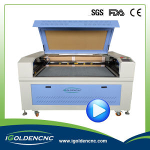 Carpet CO2 Rd with up and Down Table Laser Cutting Machine pictures & photos