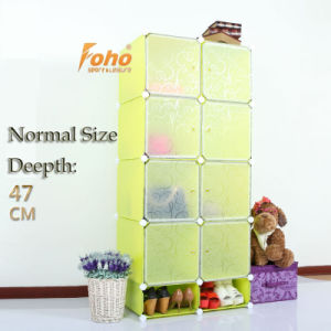 Simple DIY Wardrobe with Panels Size 45X35cm (FH-AL023822-8) pictures & photos