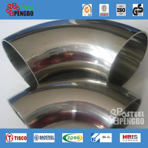 Stainless Steel Sch40 90 Degree Pipe Elbow pictures & photos